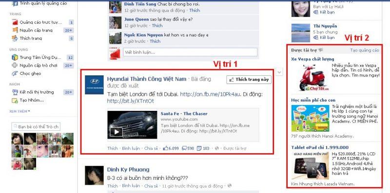 Dịch vụ quảng cáo Facebook tại Ninh Thuận